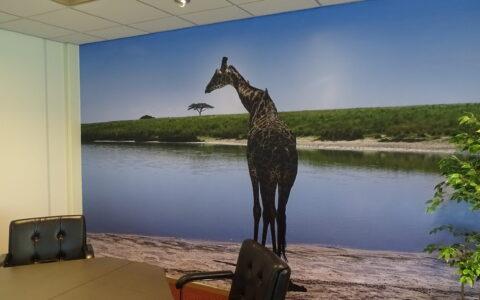 textile wallpaper photoprint
